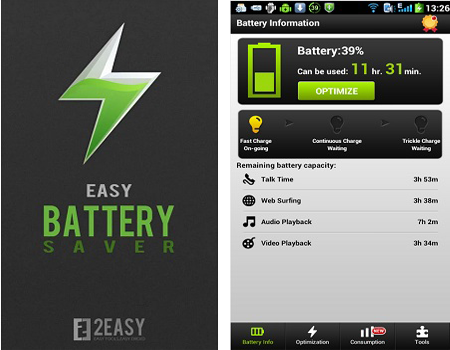 Скачать программу батареи на андроид